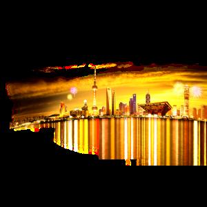 city silhouett