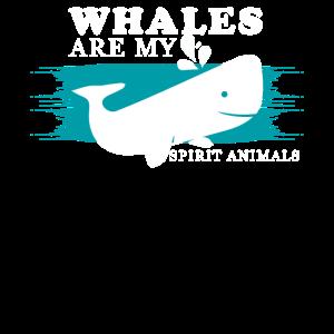 Wale sind meine Lieblingstiere - Geschenk