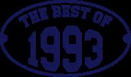 Jahrgang 1990 Geburtstagsshirt: The Best of 1993