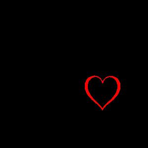 Diva Herz schwarz