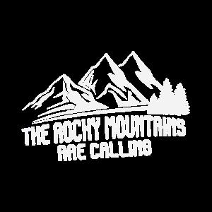 Die Rocky Mountains Rufen Logo