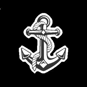 T-Shirt Mit Schifffahrt Anker Für Die Schiffreise