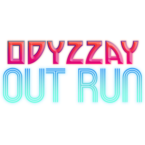 Odyzzay Out Run Neon Gradient