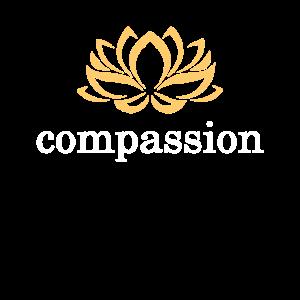 Goldene Lotus Blüte compassion