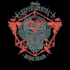 London Metal Rock Totenkopf
