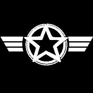 Stern und Streifen