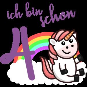 Geschenk Geburtstag Mädchen Einhorn 4. vierter