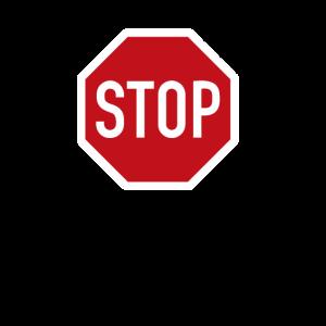 Stopschild Stop Verkehrsschild