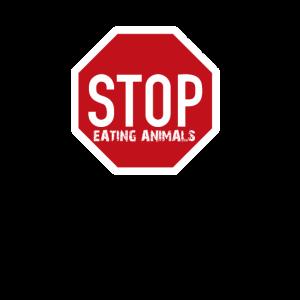 Stop Eating Animals Stop Fleisch Essen