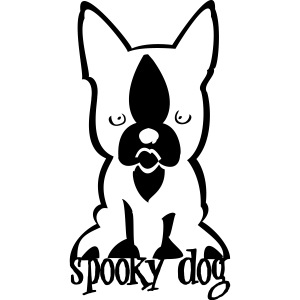 customized spooky dog [01cus/pers] | Women's Premium Hooded Jacket