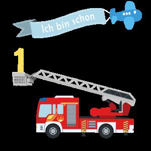 Feuerwehr 1. Geburtstag