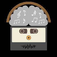 Musik Kassette Kopfhoerer Tape Geschenk