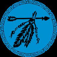 Motiv ~ Indianer Pfeil mit Federn, Schutz & Kraft Symbol