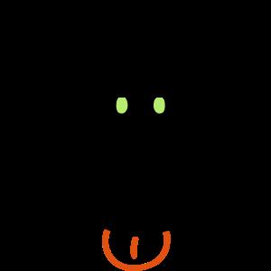Affe Gesicht Augenfarbe änderbar Comic