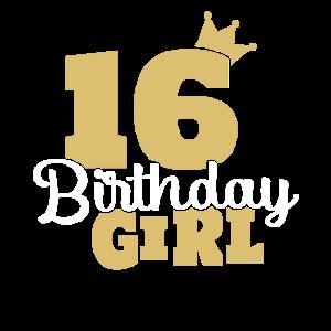 16 Geburtstag 2003 Girl Sechszehn 16er Geschenk