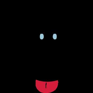 Affe Zunge + Augenfarbe änderbar