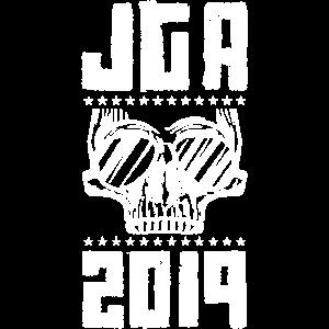 jga crew skelett sonnenbrille 2019