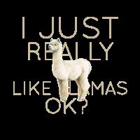 I just really like Llamas