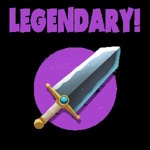 Legendary Sword Item - Shirt Design