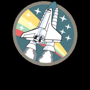Spaceshuttle-Start - Space Shuttle Launch Shirt