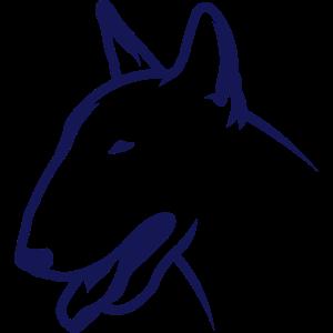 Bullterrier BULLY HEAD 1c_4light
