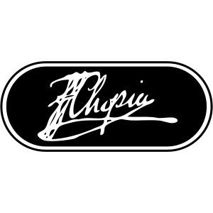 Chopin Signatur Ellipse