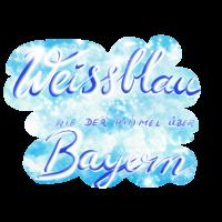 Weissblau wie der Himmel über Bayern