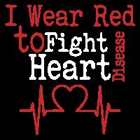 Herzkrankheits-Bewusstseins-T-Shirt