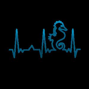 Seepferdchen Herzschlag