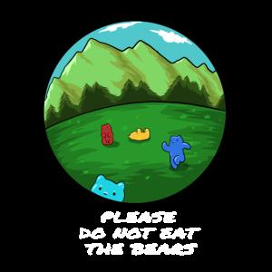 Berge Wandern Bären Spruch Geschenk