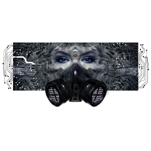 T-Shirt Cybergoth Goth dark wave Cyber