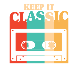 Keep it Classic 80s music casette eighties party g