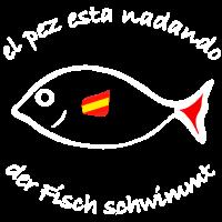 Fisch schwimmt Spanisch/ Deutsch
