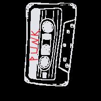 80er Punk Mixed Tape Shirt Punk Musik Shirt