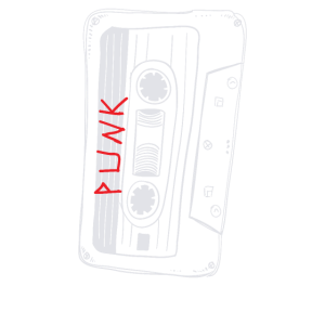 80er Punk Mixed Tape Shirt Punk Musik Shirt