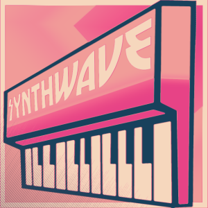 Synthwave Keyboard Pastell