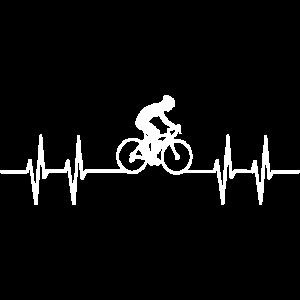 Herzschlag Radfahren