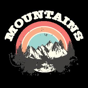 Mountains - Grenzenlose Berge Geschenk Shirt