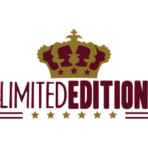 Limited Edition King Crown Stars Logo