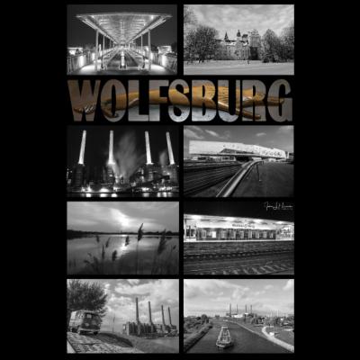 Wolfsburg Schwarz-Weiß - Wolfsburg Schwarz-Weiß - Wolfsburg,Weiß,Schwarz