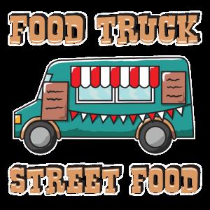 Food Truck Imbissbude Fast Food Geschenk