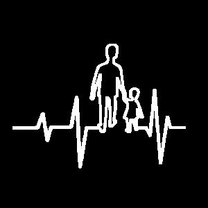 Vater und Sohn Herzfrequenz
