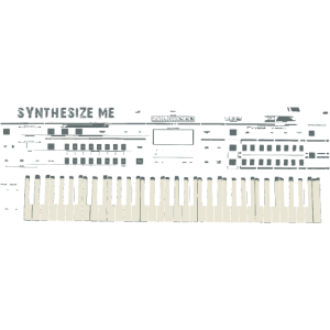 Synthesize me Synthesizer Synthie Pop Geschenk