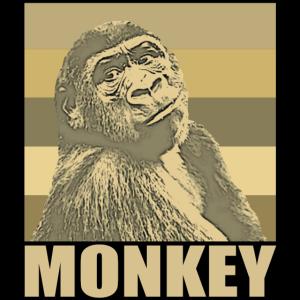 Affe Monkey Affengeischt