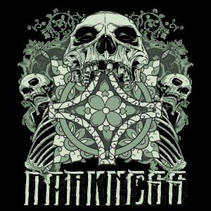 Darkness - Totenkopf - Skull - Friedhof - Cool