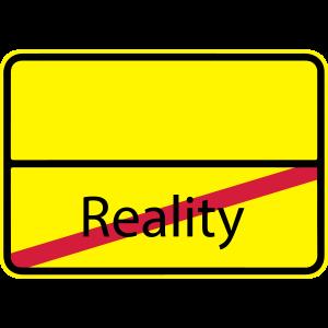Reality Verkehrsschild Ortsausgangsschild 3c