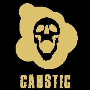 caustic gas