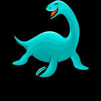 Nessie, Monster von Loch Ness, laugh