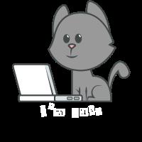 Katze Laptop