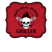 Natural Born Griller,BBQ, Grill, Chefkoch Geschenk